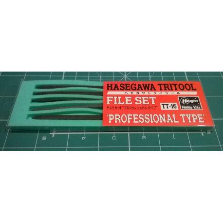 "HASEGAWA TT16 File Set ""Professional Type"""