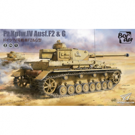 BORDER MODEL BT-04 Panzer IV Ausf. F2 & G 1/35