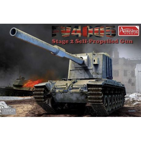 AMUSING HOBBY 35A029 FV4005 Stage 2 SPG 1/35