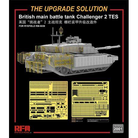 RYE FIELD MODEL 2001 British MBT Challenger 2 TES upgrade solution 1/35