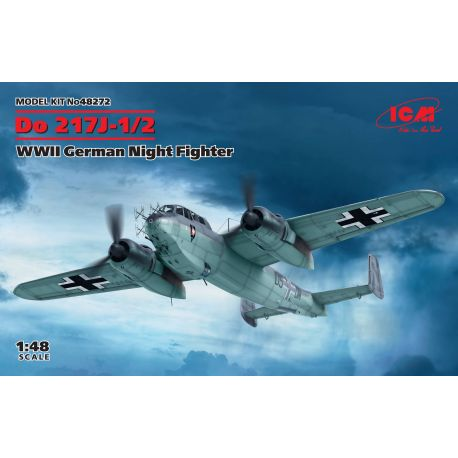 ICM 48272 Dornier Do-217J-1/2 WWII German Night Fighter 1/48
