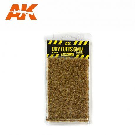AK INTERACTIVE 8118- LIGHT GREEN TUFTS 6MM