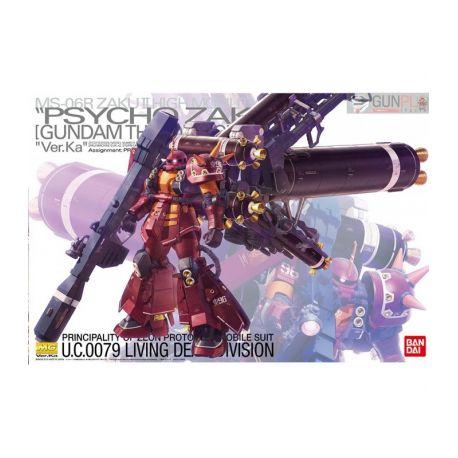 "BANDAI MG MS-06R ZAKU II HIGH MOBILITY TYPE ""PSYCHO ZAKU"" VER.KA 1/100"