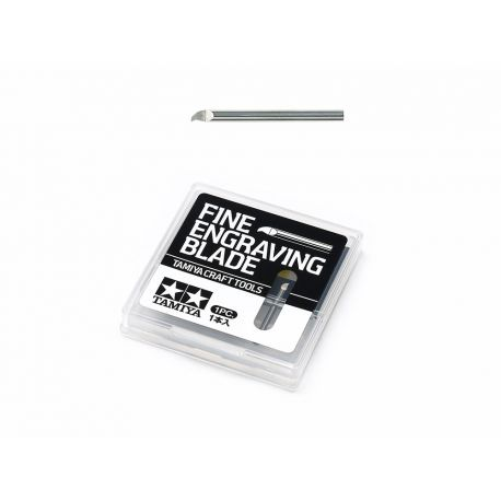 TAMIYA 74136 FINE ENGRAVING BLADE 0.2MM