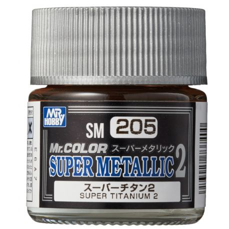 MR.COLOR SUPER METALLIC 2 SUPER TITANIUM 2 10ml