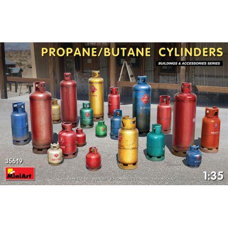 MINIART 35619 PROPANE/BUTANE CYLINDERS 1/35