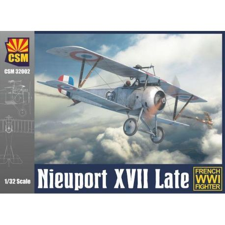 COPPER STATE MODELS 32002 NIEUPORT XVII LATE VERSION 1/32