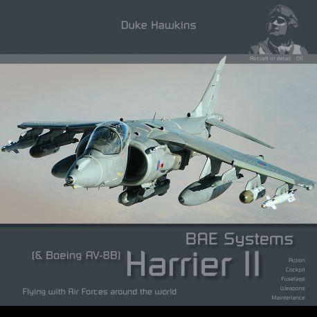 HMH-Publications Duke Hawkins: BAE Systems Harrier II & Boeing AV-8B Harrier II (Plus)