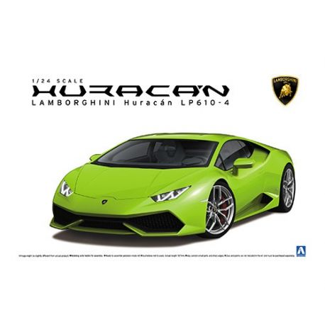 AOSHIMA 01382,Lamborghini Huracan Lp610-4 1/24