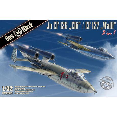 "DAS WERK 32001 Ju EF-126 ""Elli"" / EF-127 ""Walli"" (3 in 1)"