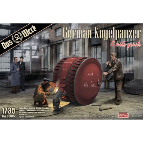 DAS WERK 35015 German Kugelpanzer (2 Kits Pack)