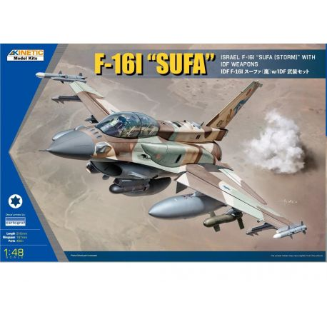 KINETIC 48085 F-16I Sufa w/full IDF weapon 1/48
