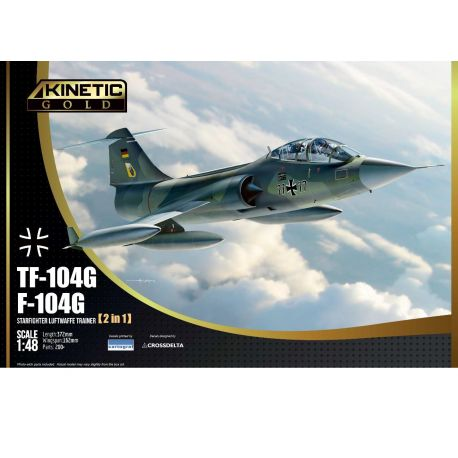 KINETIC 48089 Lockheed TF-104G Starfighter 1/48