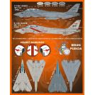 Furball Aero-Design S4820 Colors and Markings of US Navy Grumman F-14s Part Eleven (F/D&S-4820)