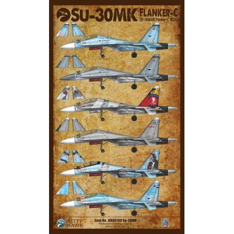 KITTY HAWK 80169 Su-30MK Flanker-C 1/48