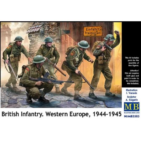 Master Box 3585 British Infantry West Europe 1944-45