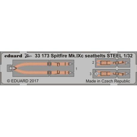 EDUARD 33173 Spitfire Mk. IXc seatbelts STEEL 1/32
