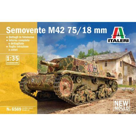 ITALERI 6569 Semovente M42 da 75/18 1/35