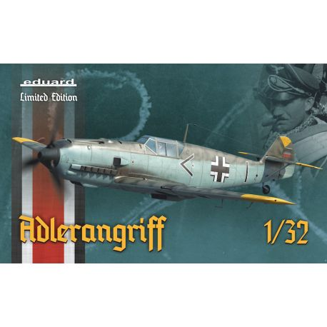 EDUARD 11107 Bf 109E ADLERANGRIFF Limited edition