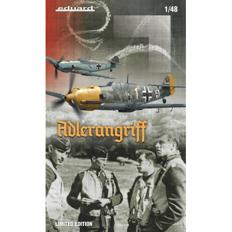 EDUARD 11144 Bf 109E ADLERANGRIFF Limited edition 1/48