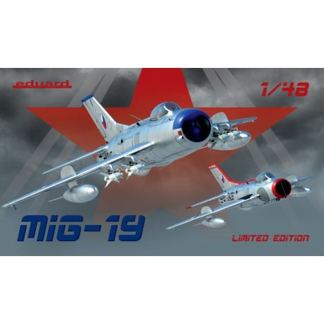 EDUARD 11141 MiG-19 version S and PM Limited edition 1/48