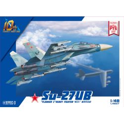 Great Wall HOBBY L4827 Su-27UB Flanker-C Heavy Fighter 1/48