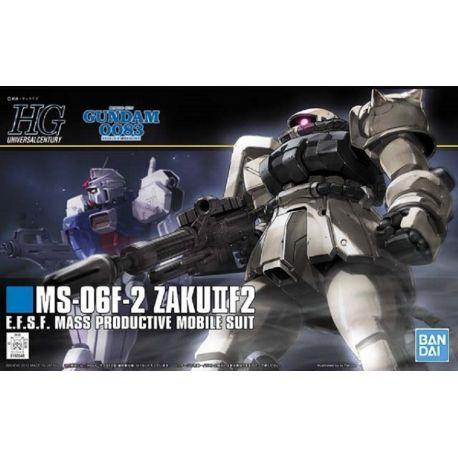 BANDAI HGUC ZAKU-F2 EARTH FED TYPE GUNDAM 2091786
