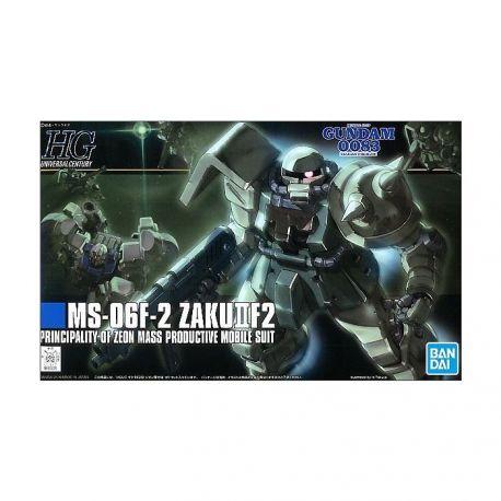 BANDAI HGUC ZAKU-F2 ZEON TYPE GUNDAM 2090756