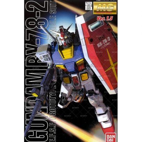 BANDAI MG RX-78-02 VER 1.5 GUNDAM 0076372