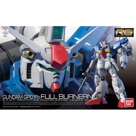 BANDAI RG RX-78 GP01-FB FULL BURNERN 826558