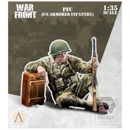 SCALE75 SW35-048 PFC US ARMORED INFANTRY