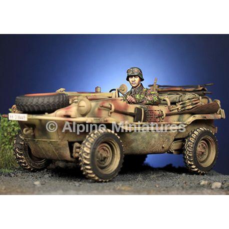 "Alpine Miniatures 35279 WSS Schwimmwagen Driver ""HJ"""