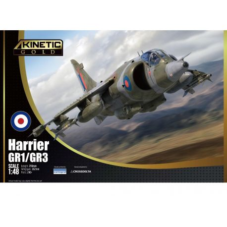 KINETIC 48060 BAe Harrier GR.1/3 1/48