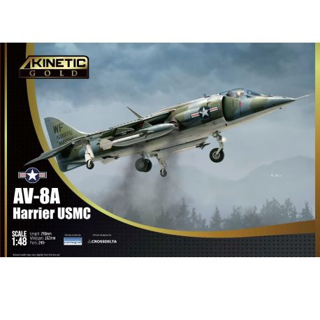KINETIC 48072 McDonnell-Douglas AV-8A Harrier USMC 1/48