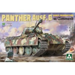 TAKOM 2134 Panther Ausf.G Early Production w/Zimmerit 1/35