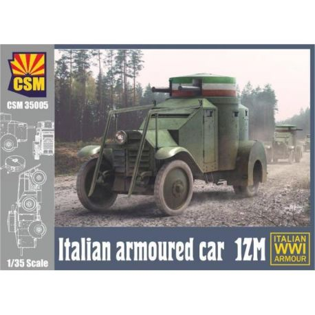 COPPER STATE MODELS 35005 Italian Armoured car 1ZM