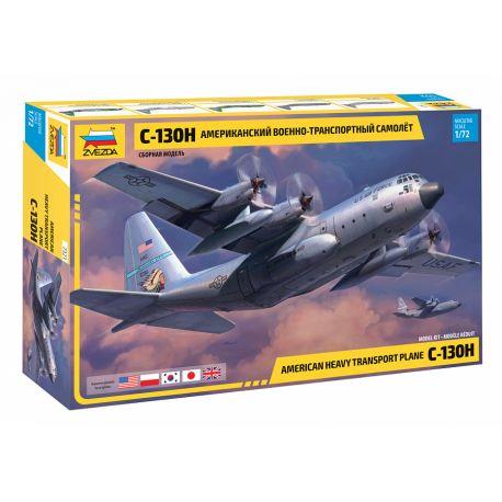 ZVEZDA 7321 American heavy transport plane C-130H 1/72