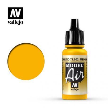 VALLEJO MODEL AIR YELLOW 71002
