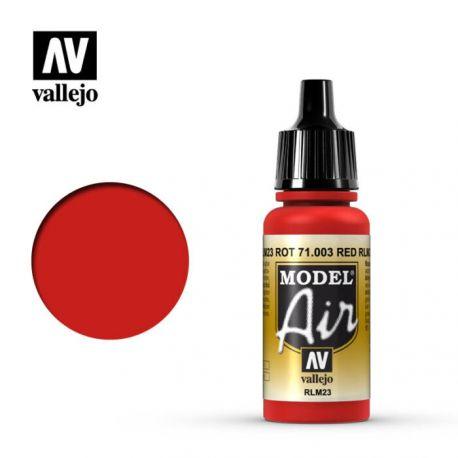 VALLEJO MODEL AIR SCARLET RED 71003