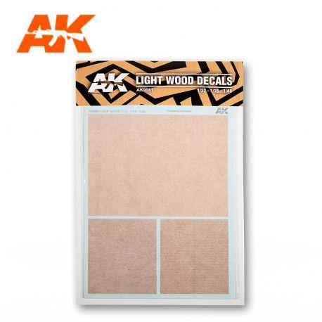 AK INTERACTIVE 9081 LIGHT WOOD DECALS