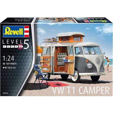 REVELL 07674 VW T1 Camper 1/24