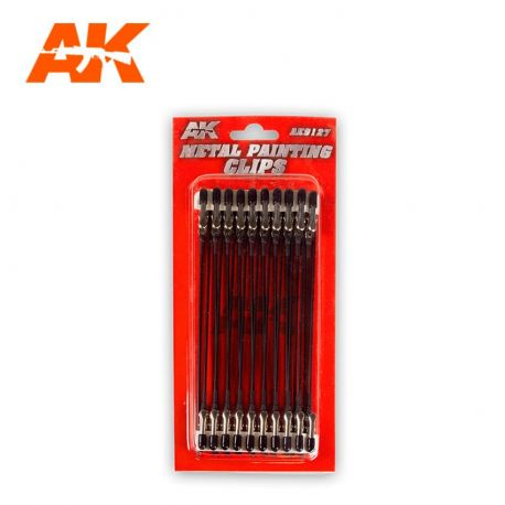 AK INTERACTIVE 9127- METAL PAINTING CLIPS