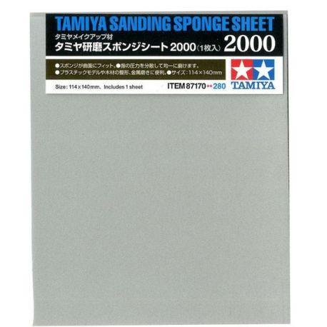 Tamiya 87170 Sanding Sponge Sheet 2000