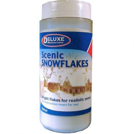 DELUXE MATERIALS SCENIC SNOWFLAKES