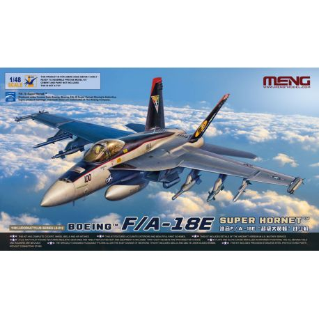 MENG MODEL LS-012 F/A-18E Super Hornet 1/48