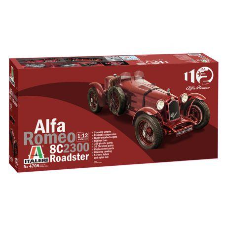 ITALERI 4708 Alfa Romeo 8C 2300 Roadster 1/12