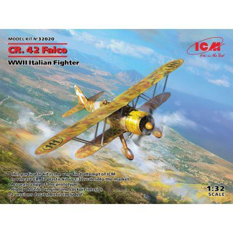 ICM 32020 Fiat CR.42 Falco 1/32