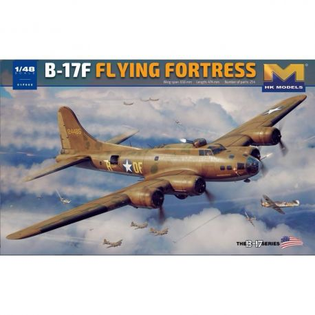 HONG KONG MODEL 01F002 1/48 Boing B-17F Flying Fortress (Memphis Belle)