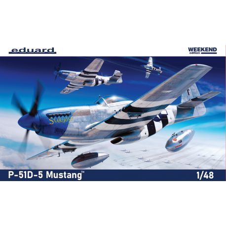EDUARD 84172 P-51D-5 Mustang Weekend edition 1/48