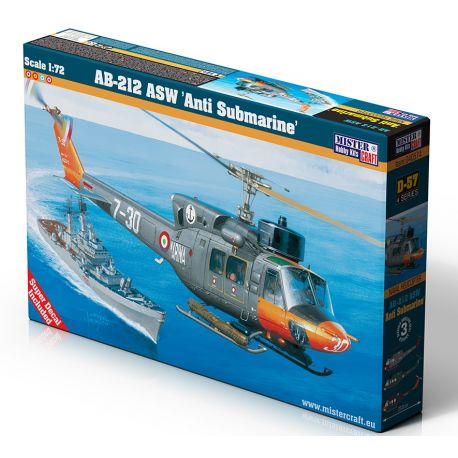MISTERCRAFT D57 AB-212 ASW 'Anti Submarine' 1/72